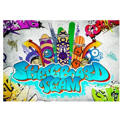 Fotomurale - Skateboard team - Quadri e decorazioni