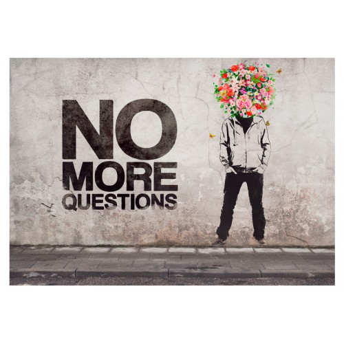 Fotomurale - No more questions - Quadri e decorazioni