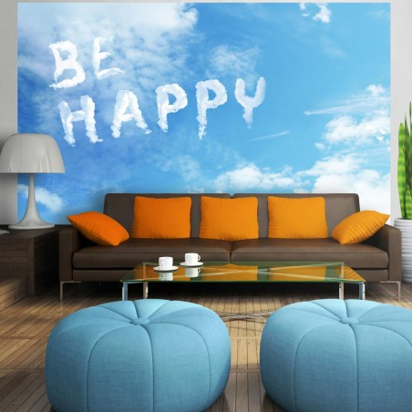 Fotomurale - Be happy - Quadri e decorazioni