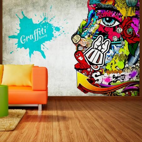 Fotomurale - Graffiti beauty - Quadri e decorazioni