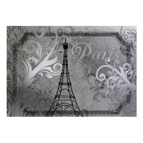 Fotomurale - Vintage Paris - color argento - Quadri e decorazioni