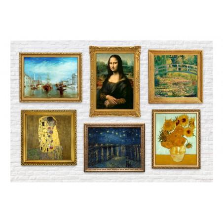Fotomurale - Parete dei tesori - Quadri e decorazioni