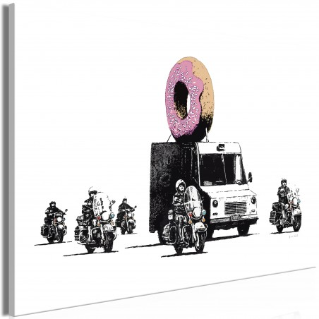 Quadro - Donut Police (1 Part) Wide - Quadri e decorazioni