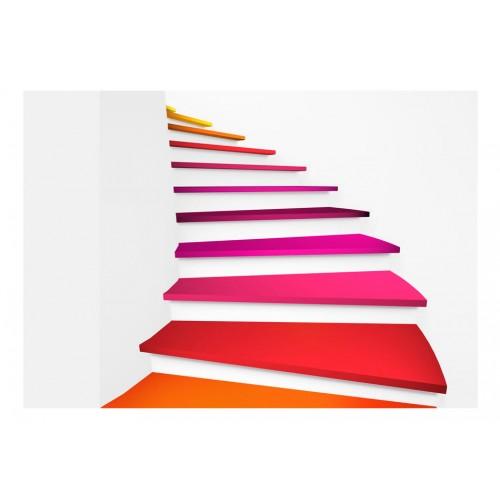 Fotomurale - Scale arcobaleno - Quadri e decorazioni