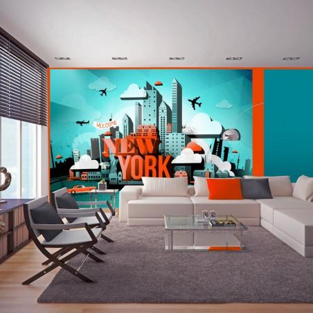 Fotomurale - Welcome New York - Quadri e decorazioni