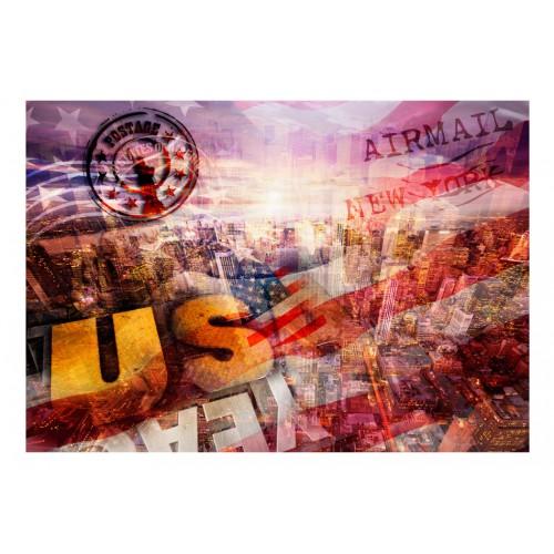 Fotomurale - New York - tema patriottico - Quadri e decorazioni