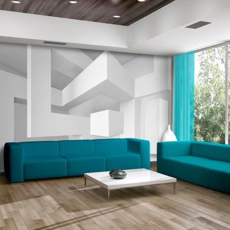 Fotomurale - Geometria bianca - Quadri e decorazioni