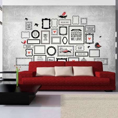 Fotomurale - Il motto di famiglia - Quadri e decorazioni