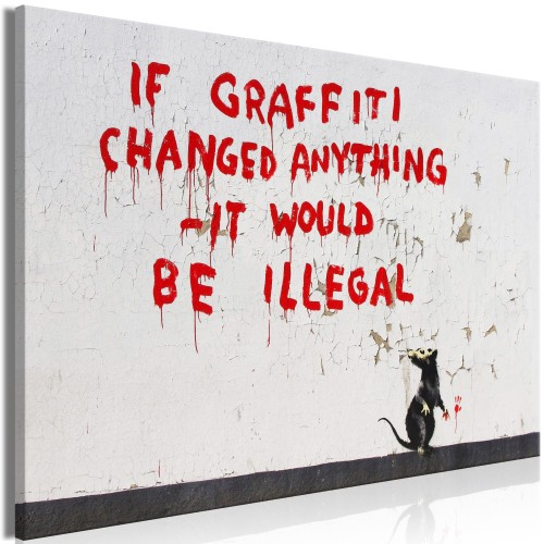 Quadro - Quotes Graffiti (1 Part) Wide - Quadri e decorazioni