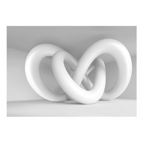 Fotomurale - White weave - Quadri e decorazioni