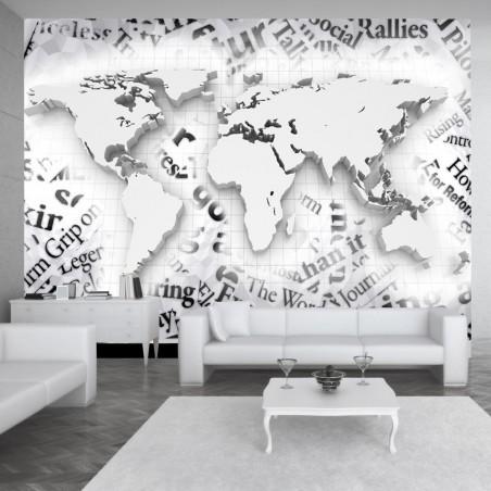 Fotomurale - Mondo dei giornali - Quadri e decorazioni