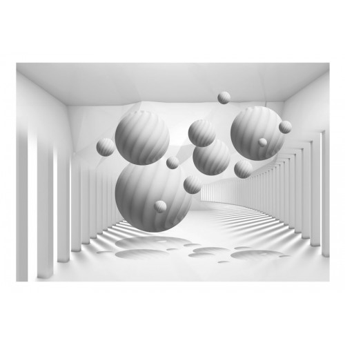 Fotomurale - Balls in White - Quadri e decorazioni