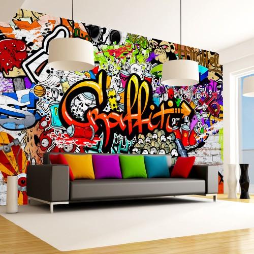Fotomurale - Colorful Graffiti - Quadri e decorazioni