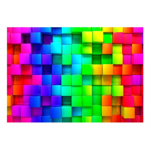 Fotomurale - Colourful Cubes - Quadri e decorazioni