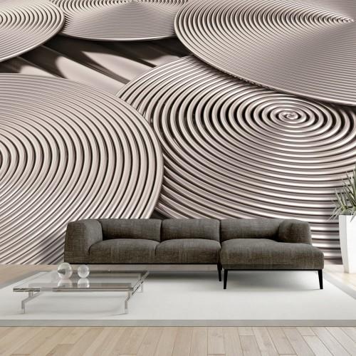 Fotomurale - Copper Spirals - Quadri e decorazioni