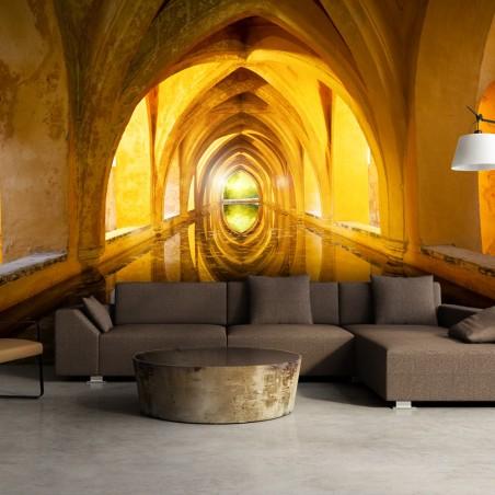 Fotomurale - The Golden Corridor - Quadri e decorazioni