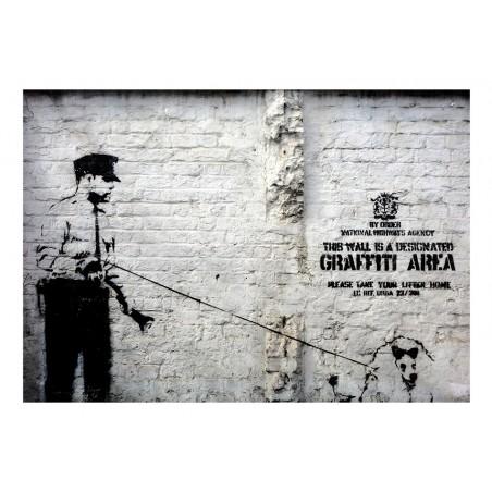 Fotomurale - Banksy - Graffiti Area - Quadri e decorazioni