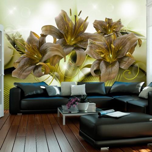 Fotomurale - Ecstatic Green - Quadri e decorazioni