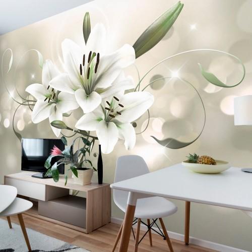Fotomurale - Lily - Flower of Masters - Quadri e decorazioni