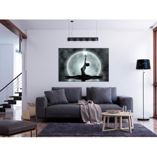 Quadro - Twine (1 Part) Wide Grey - Quadri e decorazioni