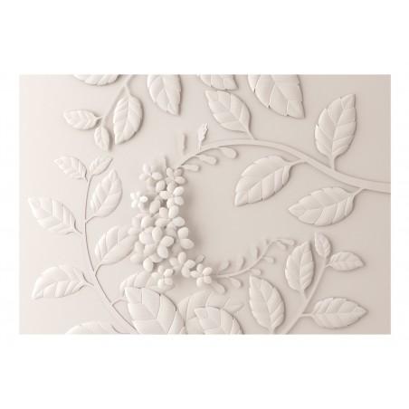 Fotomurale - Paper Flowers (Cream) - Quadri e decorazioni