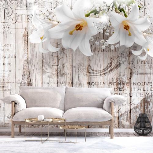 Fotomurale - Parisian Lilies - Quadri e decorazioni