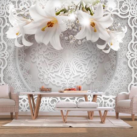 Fotomurale - Lilies and Ornaments - Quadri e decorazioni