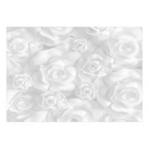 Fotomurale - Plaster Flowers - Quadri e decorazioni