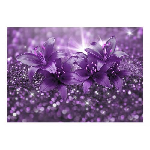 Fotomurale - Masterpiece of Purple - Quadri e decorazioni