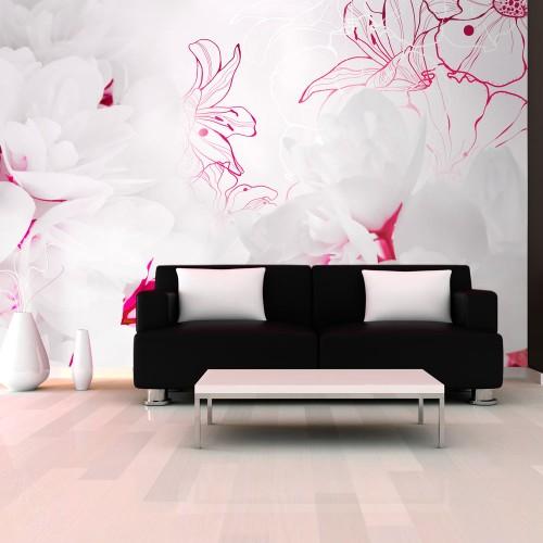 Fotomurale - Avvolti in bianco - Quadri e decorazioni