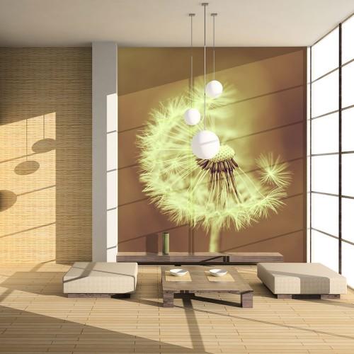 Fotomurale - soffione (seppia) - Quadri e decorazioni