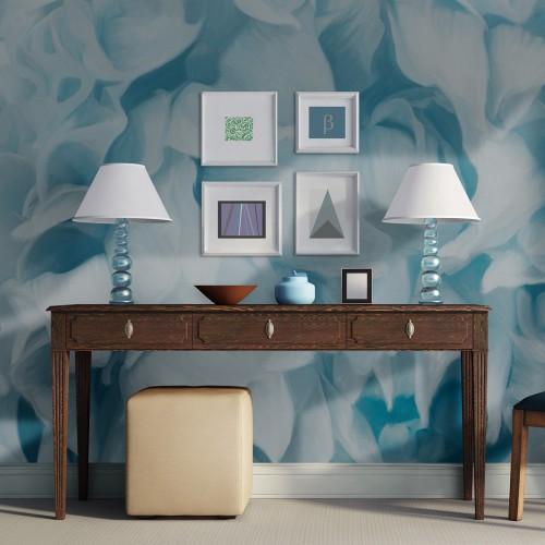 Fotomurale - azalea (blu) - Quadri e decorazioni