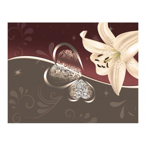 Fotomurale - Giglio color crema - Quadri e decorazioni