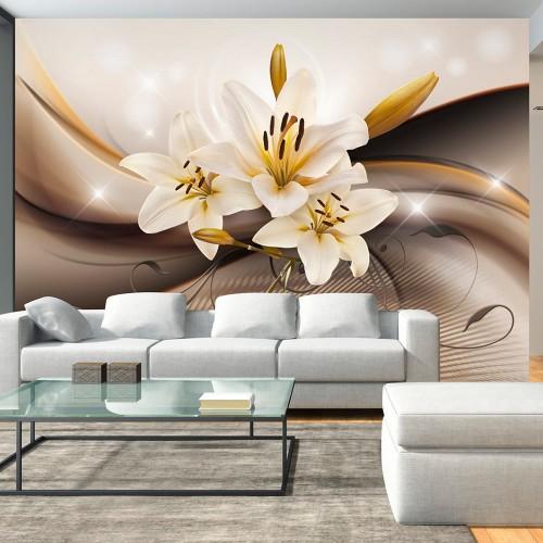 Fotomurale - Golden Lily - Quadri e decorazioni