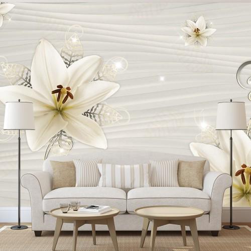 Fotomurale - Illusione cremoso - Quadri e decorazioni