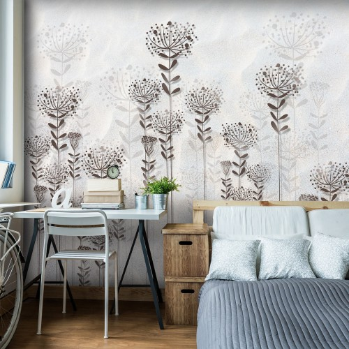 Fotomurale - Winter Garden - Quadri e decorazioni
