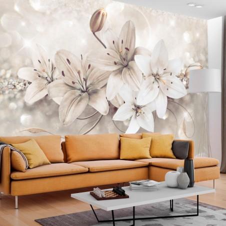 Fotomurale - Diamond Lilies - Quadri e decorazioni