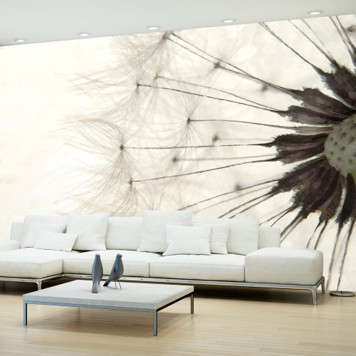 Fotomurale - White Dandelion - Quadri e decorazioni