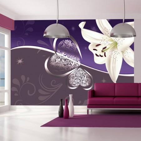 Fotomurale - Giglio in viola - Quadri e decorazioni