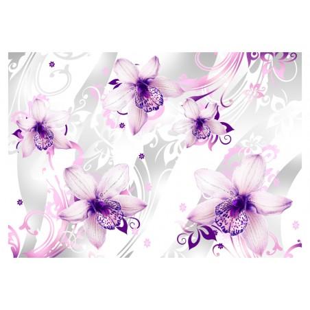 Fotomurale - Suoni della finezza - viola - Quadri e decorazioni