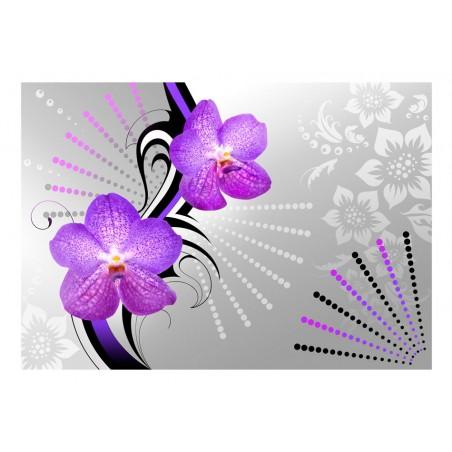 Fotomurale - Vibrazioni viola - Quadri e decorazioni