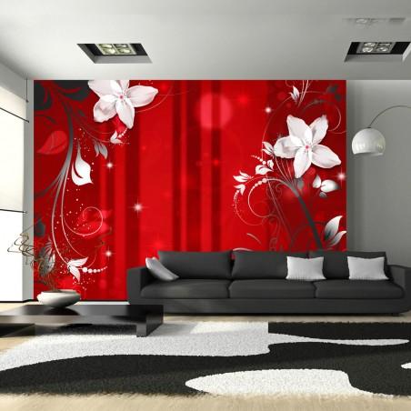 Fotomurale - Fioritura scarlatto - Quadri e decorazioni