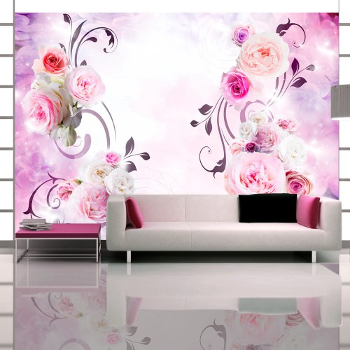 Fotomurale - Variazioni di rosa - Quadri e decorazioni