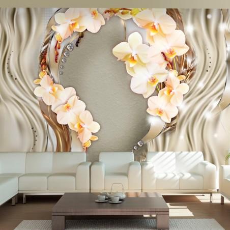 Fotomurale - Corona di orchidee - Quadri e decorazioni