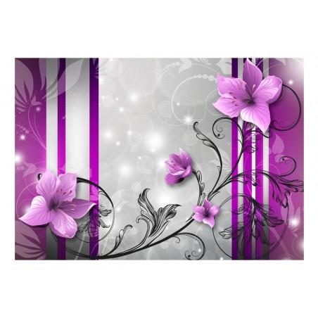 Fotomurale - Gemme viola - Quadri e decorazioni