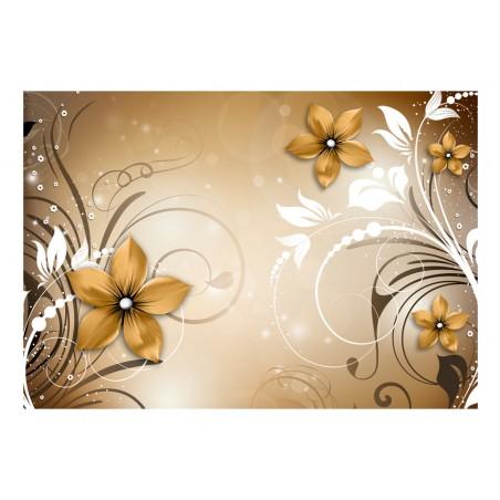 Fotomurale - Rapsodia marrone - Quadri e decorazioni