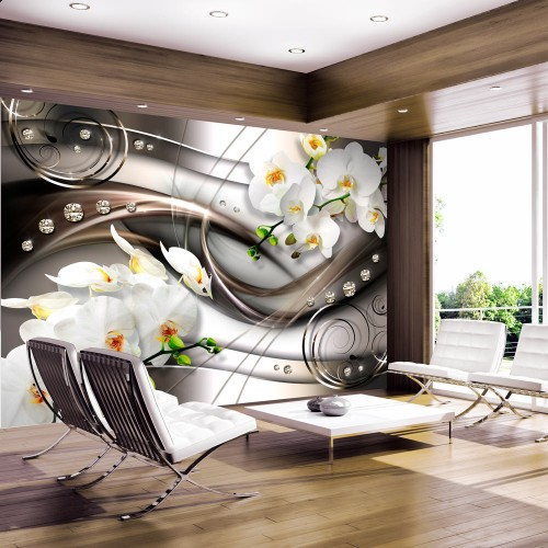 Fotomurale - Breeze and orchid - Quadri e decorazioni
