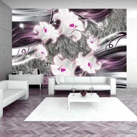 Fotomurale - Dance of charmed lilies - Quadri e decorazioni