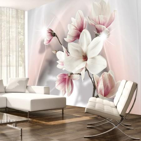 Fotomurale - White magnolias - Quadri e decorazioni