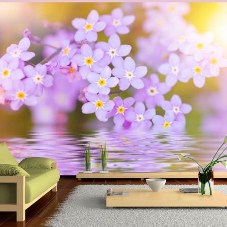 Fotomurale - Violet Petals In Bloom - Quadri e decorazioni